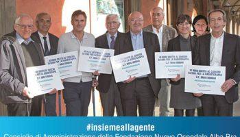 La Fondazione Nuovo Ospedale Alba-Bra Onlus è la prima in provincia di Cuneo per il 5×1000