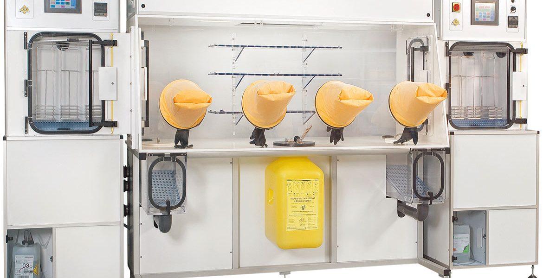 Isolatore chemioterapico per la preparazione dei farmaci antitumorali
