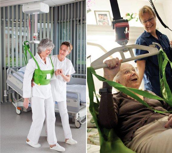 Sollevatore pazienti - Fondazione Nuovo Ospedale Alba-Bra