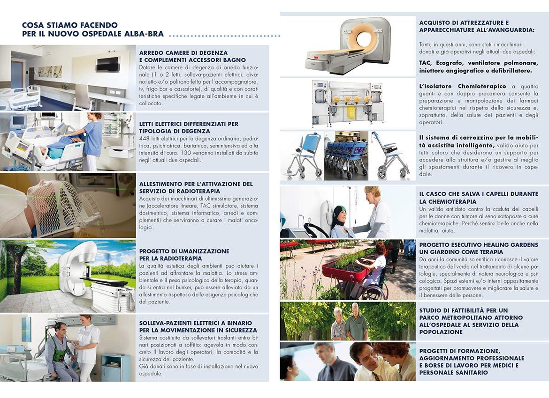 Impegni e progetti della Fondazione Nuovo Ospedale Alba-Bra Onlus