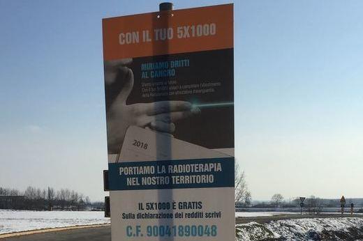 CAMPAGNA 5X1000 MIRIAMO DRITTI AL CANCRO – DA OGGI SULLE STRADE DEL TERRITORIO