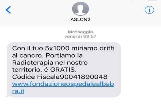 UN SMS PER LA RADIOTERAPIA, PER AVERE SEMPRE IN TASCA IL NUMERO GIUSTO