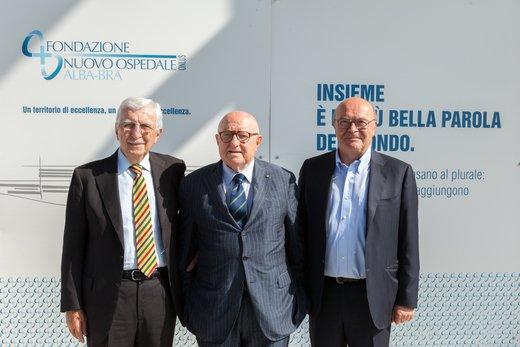 Fondazione Nuovo Ospedale Alba Bra: la Presidenza della Onlus incontra Sergio Chiamparino, Presidente della Regione Piemonte.