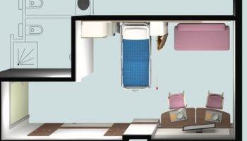 Decretate le stanze vincitrici. Acquistati gli arredi delle camere di degenza per il nuovo ospedale