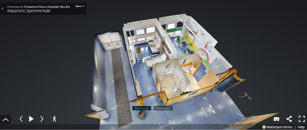 Vicini all'obiettivo. Nuovo Ospedale in 3D. Entra anche tu e guarda come sarà il tuo ospedale di territorio