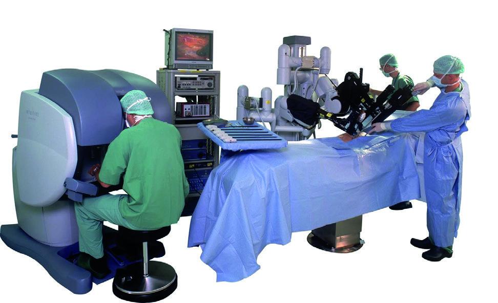 """Sistema robotico chirurgico """"da Vinci"""""""