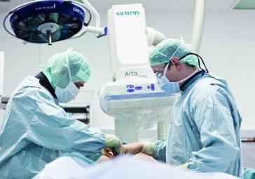 Sala ibrida per il blocco operatorio