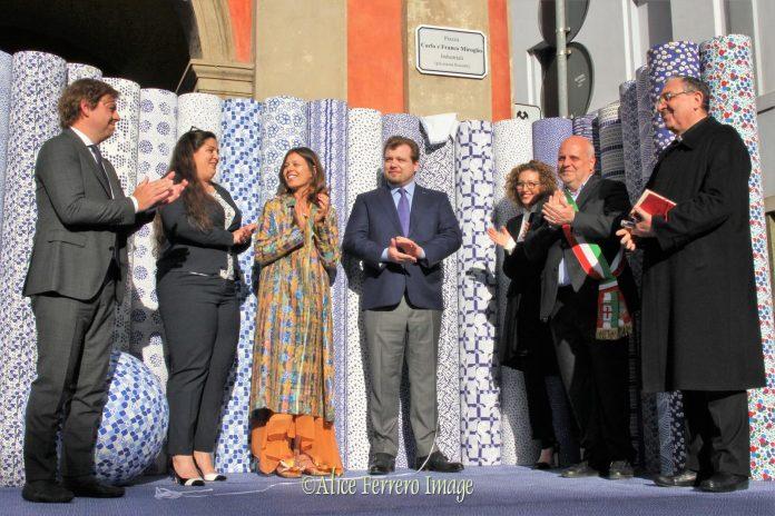 Grazie a Carlo e Franco Miroglio. Alba intitola piazza Rossetti ai nostri benefattori.