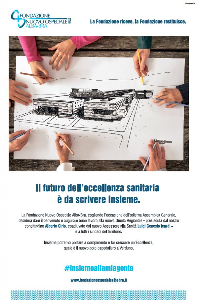Assemblea Generale 22 giugno 2019 presso il cantiere del Nuovo Ospedale Alba-Bra