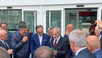 """Al Nuovo Ospedale """"Michele e Pietro Ferrero"""" oggi 21 settembre è stata annunciata ufficialmente la fine dei lavori"""