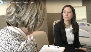 La Dott.ssa Iris Grassi illustra le dotazioni all'avanguardia della struttura (GUARDA IL VIDEO)