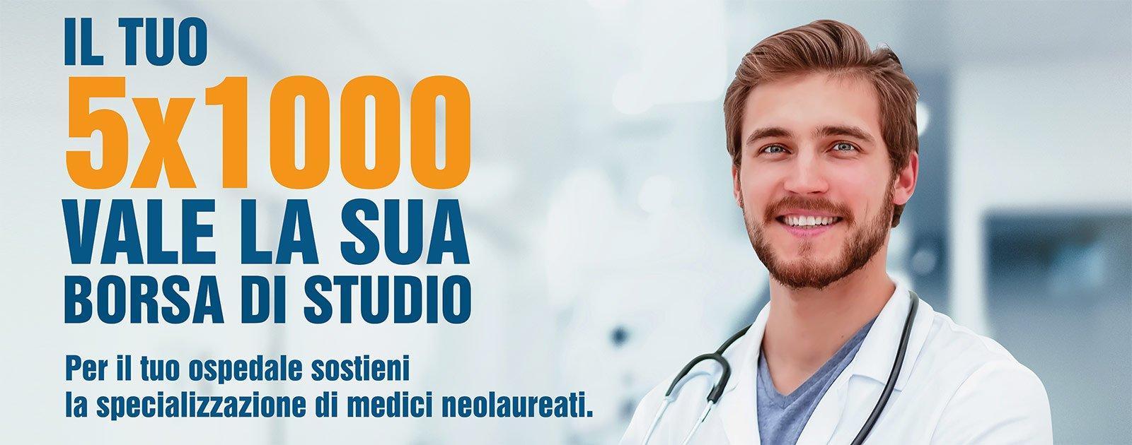 Destina il tuo 5×1000 alla Fondazione Nuovo Ospedale