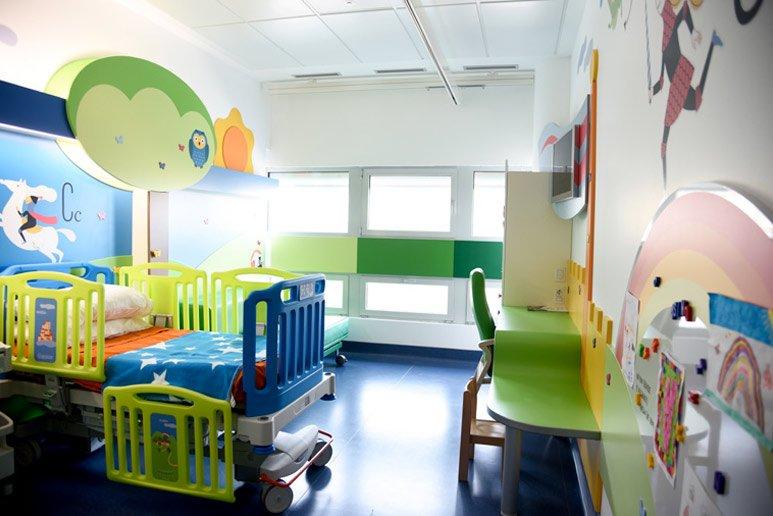 Camera di degenza per bambini - Fondazione Ospedale Alba-Bra