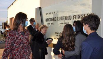 L'ospedale di Verduno è stato ufficialmente intitolato a Michele e Pietro Ferrero (VIDEO e FOTO)