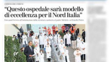 Questo ospedale sarà modello di eccellenza per il Nord Italia – La Stampa Cuneo 30 settembre 2020